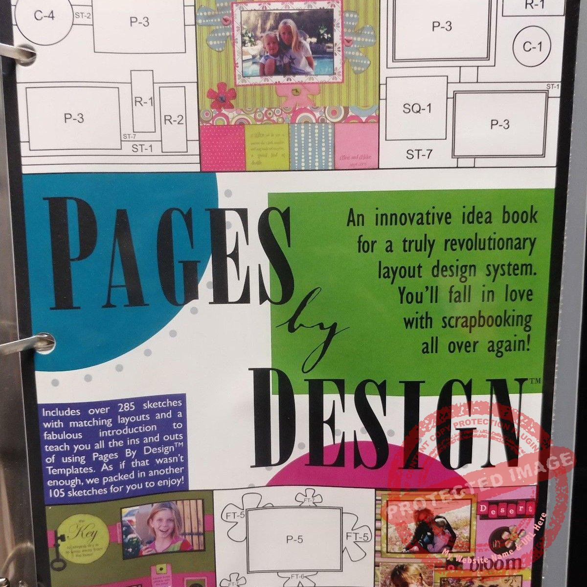 Pages By Design Scrapbook Layout System Peddlers Den